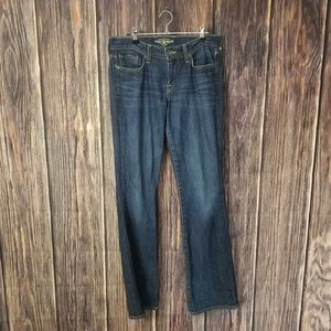 Lucky Brand size 4 blue jeans
